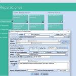 Capturas de pantalla del Módulo de Gestión Taller de Reparaciones del Cloud ERP Company Kit