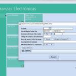 Capturas de pantalla del Módulo de Cobranzas Electrónicas del Cloud ERP Company Kit