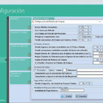 Capturas de pantalla de los Módulos Configuración General / Administración del Cloud ERP Company Kit